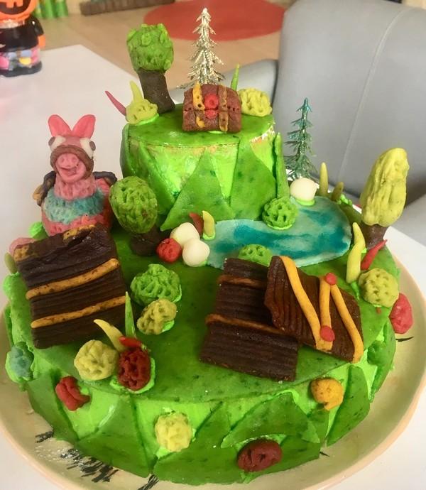 Gâteau Anniversaire Fortnite