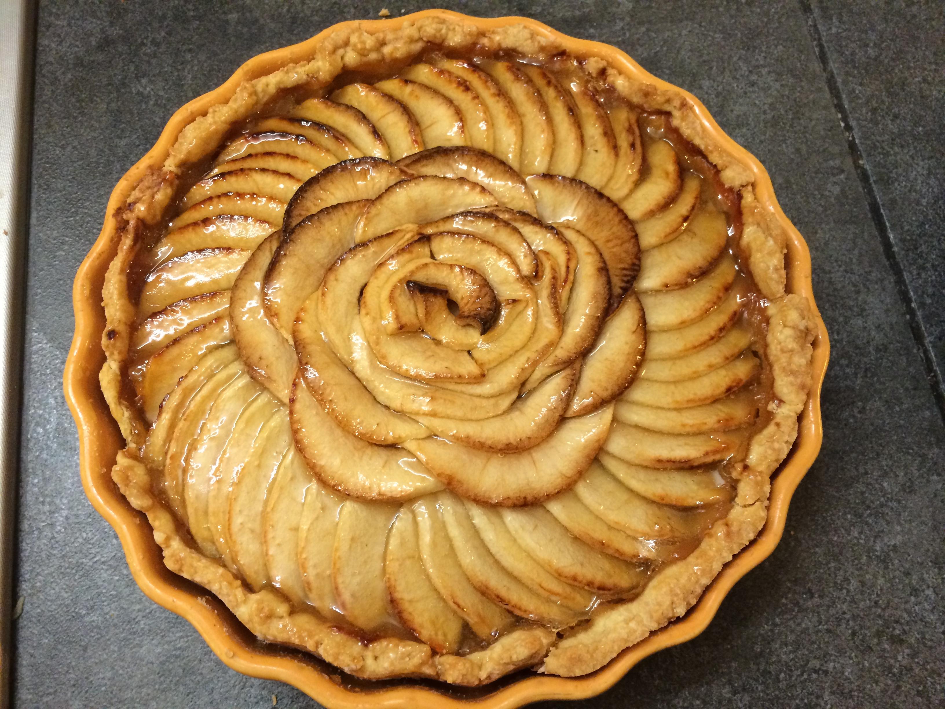 Tarte aux pommes - Dessin tarte aux pommes ...